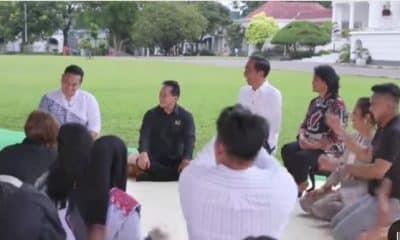 Jokowi Tertawa Hingga Nangis Lihat Gilang Dirga Tiru Suaranya