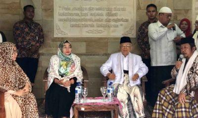 Ma'ruf Amin Lanjutkan Safari Politik ke Purwakarta dan Cimahi