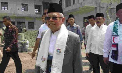 Ma'ruf Amin soal pelaporan Jokowi: Kalau Dewasa Tidak Perlu Lapor-lapor