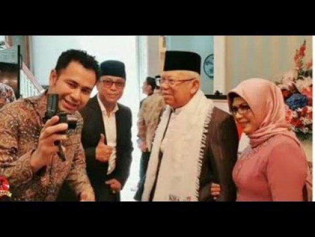 Raffi Ahmad Perkuat Tim Milenial Ma'ruf Amin