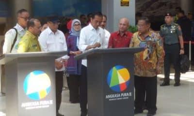 Jokowi Targetkan Bandara Depati Amir Layani 3 Juta Penumpang Tahun 2020