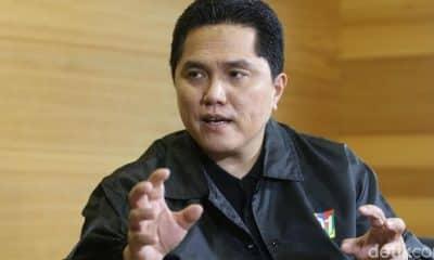 Romahurmuziy Kena OTT KPK, Erick Thohir: Ma'ruf Amin Sudah Tahu