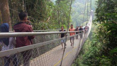Photo of Ternyata, Jembatan Gantung Terpanjang di Asia Tenggara Ada di Sukabumi