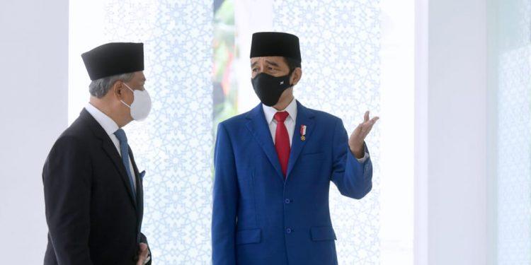 Presiden Jokowi dan PM Malaysia