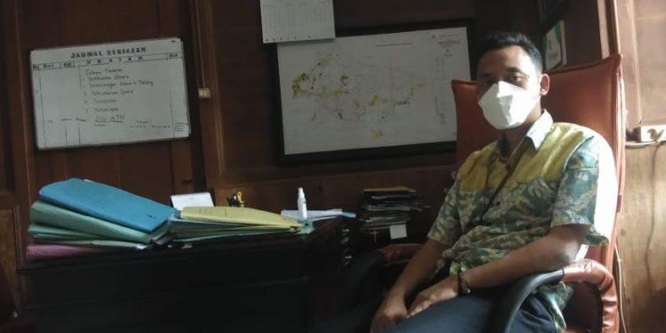 Kepala Administratur KPH Bandung Selatan, Tedy Sumarto