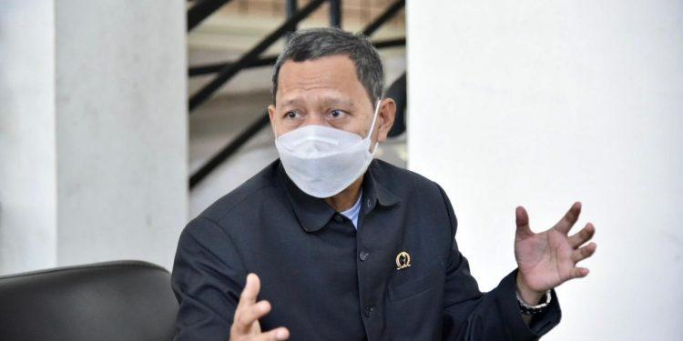 Komisi IV DPRD Provinsi Jawa Barat Saat Mengunjungi Cabang Dinas ESDM Wilayah V Kabupaten Sumedang Dalam Rangka Monitoring Kegiatan Tahun Anggaran 2021 dan Rencana Kegiatan Tahun Anggaran 2022.  Selasa (04/05/2021).