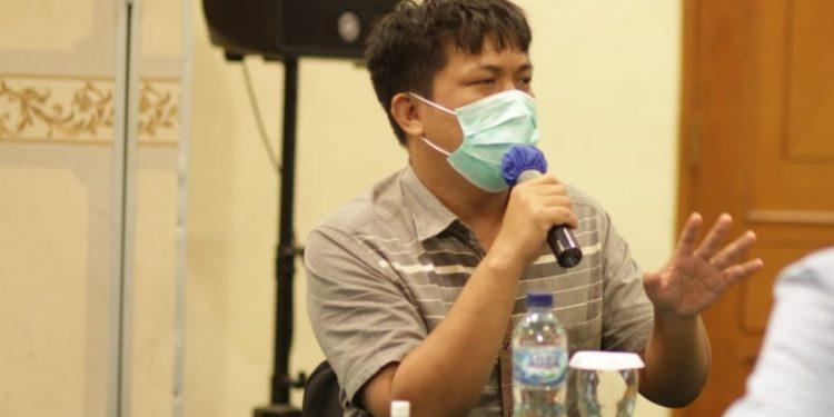 Anggota Komisi I DPRD Jabar dari Fraksi PDI Perjuangan Rafael Situmorang