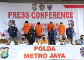 Polda Metro Jaya ungkap pemalsuan Sertifikat Vaksin Palsu.
